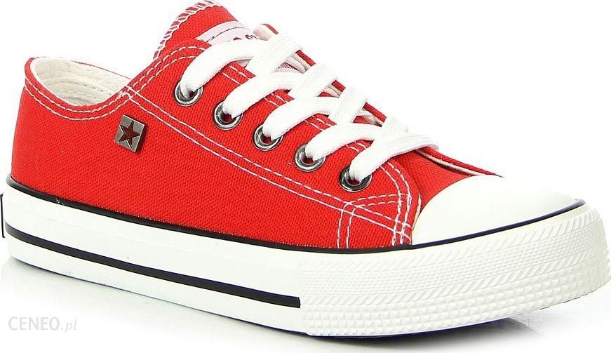 Big Star Trampki dziecięce czerwone Big Star FF374201 28