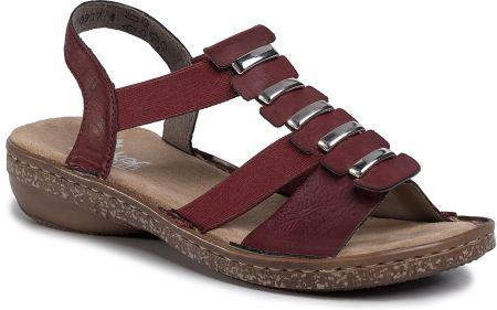Sandały damskie Rieker 608T8 81 Ecru