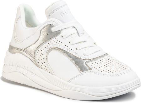 Guess Buty Damskie Sneakers Fierze FLFIE1 ELE12 WHITE Ceny i opinie Ceneo.pl