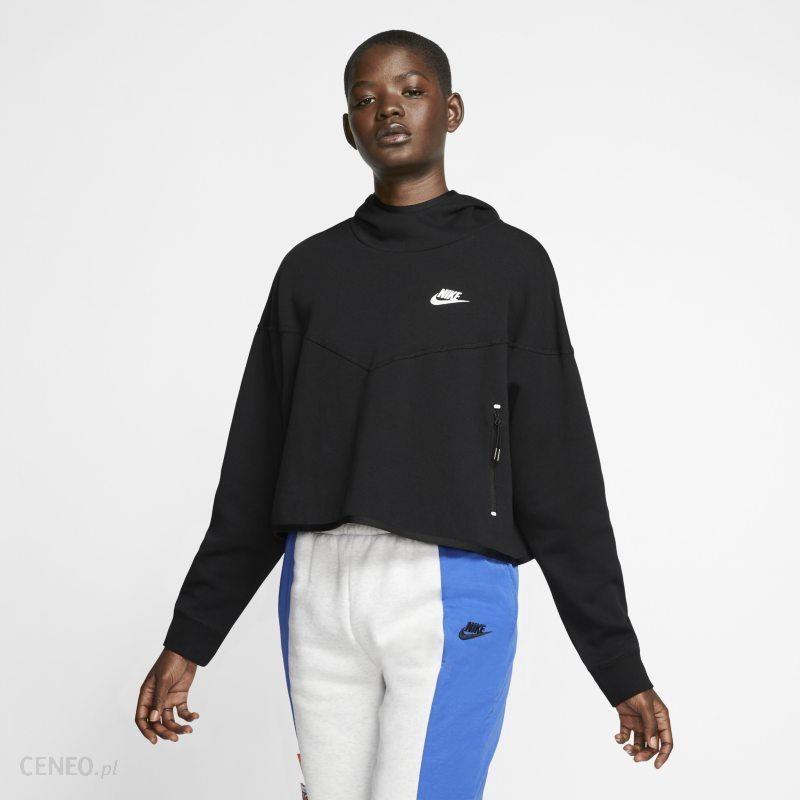Bluza dziewczęca Nike Sportswear Tech Fleece Czarny