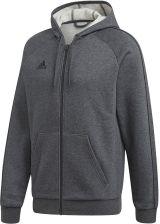 Bluza męska adidas Core 18 FZ Hoody szara FT8070 Ceny i