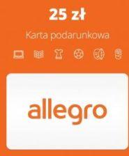 Allegro Pre Paid 25 Pln Digital Karta Pre Paid Podarunkowa Ceny I Opinie Ceneo Pl