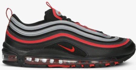buty nike czerwono czarne pikowane