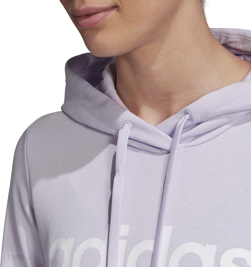 Bluza damska adidas W Essentials OH HD jasno fioletowa FM6438