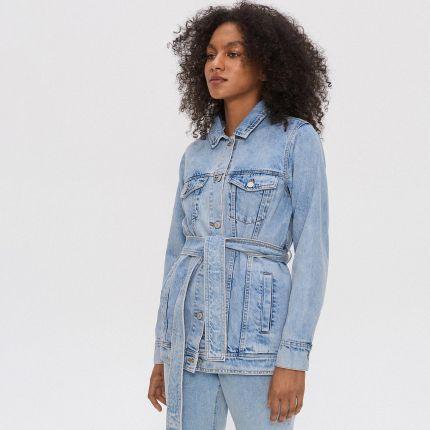House Ocieplana kurtka jeansowa Niebieski Ceny i