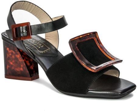 Bezowo czarne Sandały Rieker 62689 42 R.38 Ceny i opinie