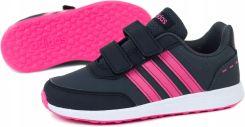 buty dziecięce adidas czarno różowe