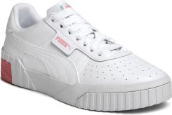 Sneakersy PUMA Cali Jr 372843 09 Puma WhitePeonyMist Green Ceny i opinie Ceneo.pl
