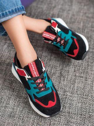 Desigual kolorowe buty sportowe Sneaker Rubber Print Scarlet