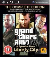 Grand Theft Auto IV Complete Edition (Gra PS3)