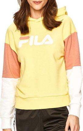 NIKE BLUZA W NSW LOGO TAPE (AR3054 731) Damskie | cena 143,99 PLN, kolor ŻÓŁTY | Bluzy Nike