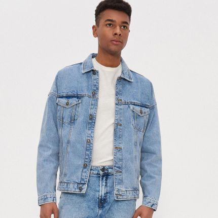 House Ocieplana kurtka jeansowa Czarny Ceny i opinie
