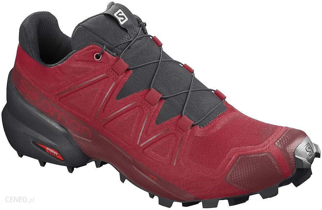 Salomon Speedcross 5 Barbados Cherry Black Red Dahlia