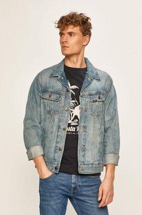 Lee ZIPPED RIDER Kurtka jeansowa strummer patch Ceny i