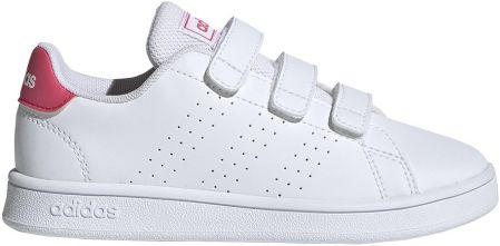 Buty dla dzieci Adidas Tensaur K białe EG2554 Ceny i