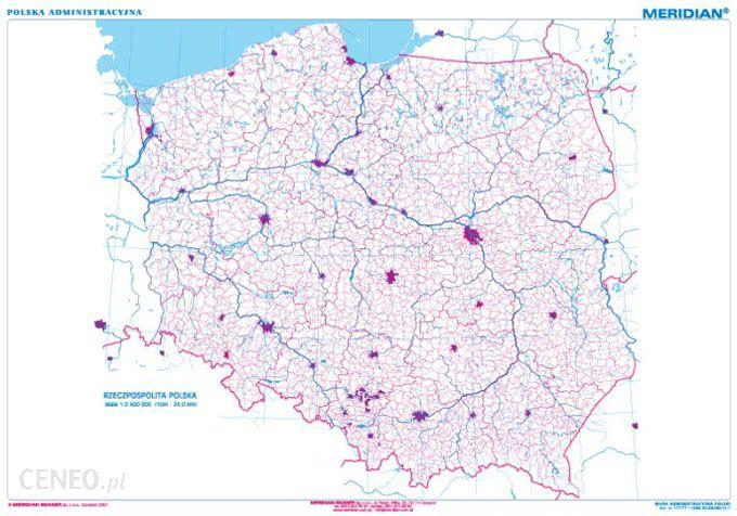 Pomoc Dydaktyczna Mapa Konturowa Polski Ceny I Opinie Ceneo Pl