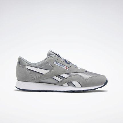 Buty męskie sneakersy Reebok Classic Nylon BD4903 GRAFITOWY , , szaryniebieski Ceny i opinie Ceneo.pl