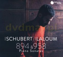 Adam Laloum: Schubert: Sonatas D. 894 & D. 958 [CD]