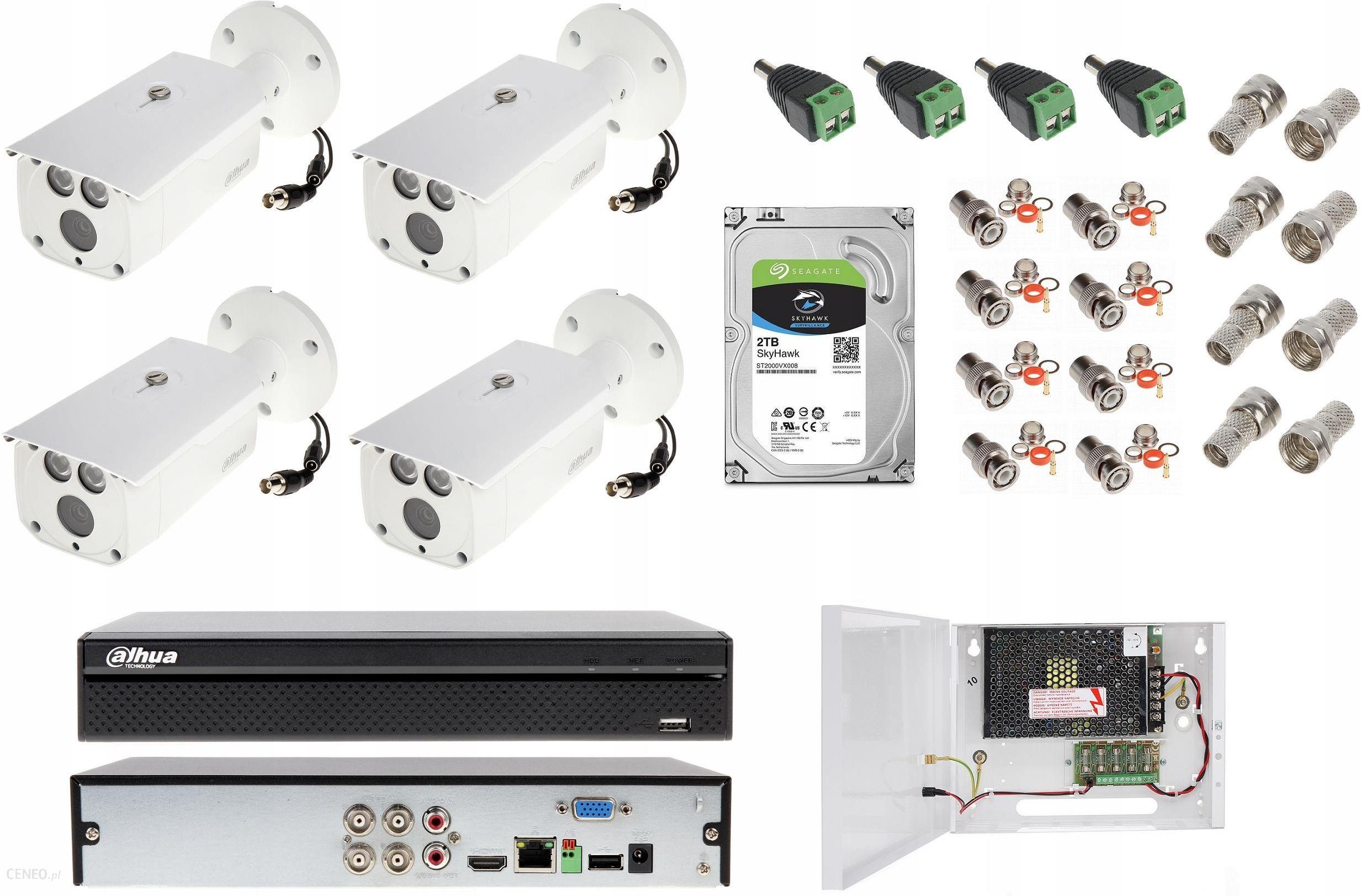 Zestaw do monitoringu Kamera Zewnętrzna Dahua 8Mpx