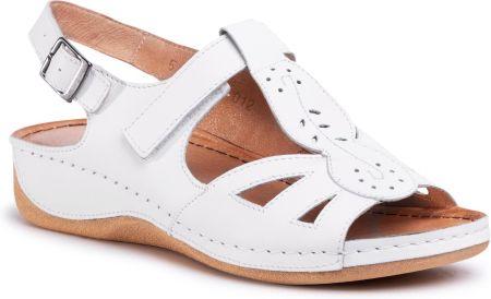 Sandały LA MARINE Agathe White