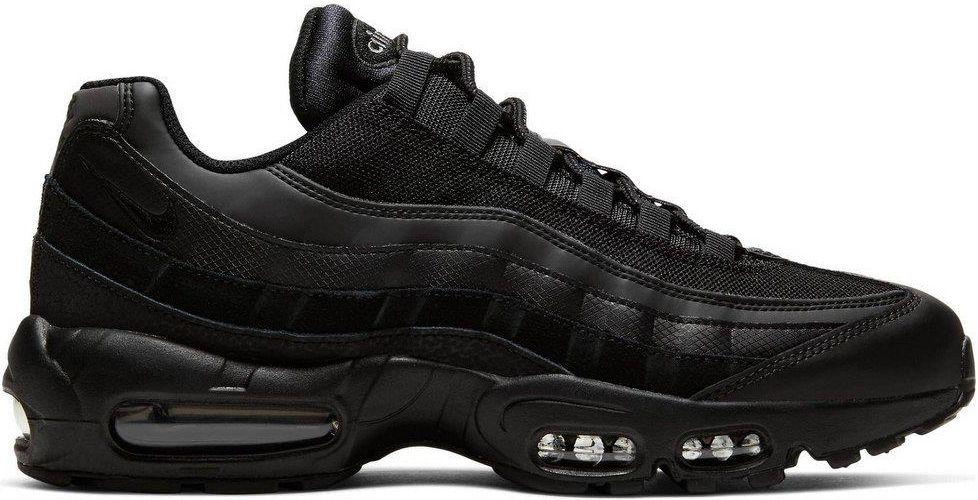 Nike Air Max 95 Czarne skórzane buty sportowe
