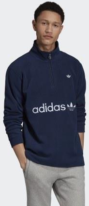 Bluza męska adidas Sport ID Logo Fleece Full Zip jasnoszara DM7588
