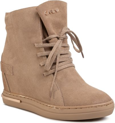 Sneakersy Beżowe B5371 O31 O60 O61 D67 (CI513 a)