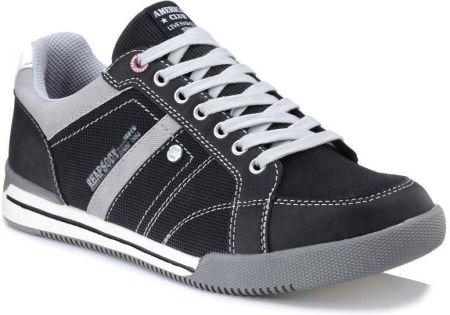 Czarne męskie buty sportowe AMERICAN CLUB RH03 Ceny i
