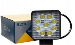 LAMPA ROBOCZA HALOGEN ELTA 4 LED 12W 1224V Lampy robocze