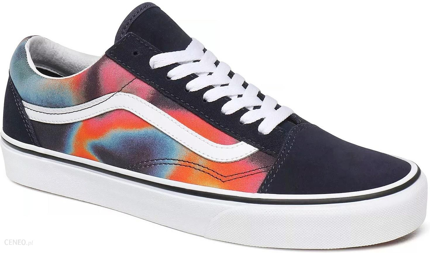 buty Vans Old Skool Dark AuraMultiTrue White 41