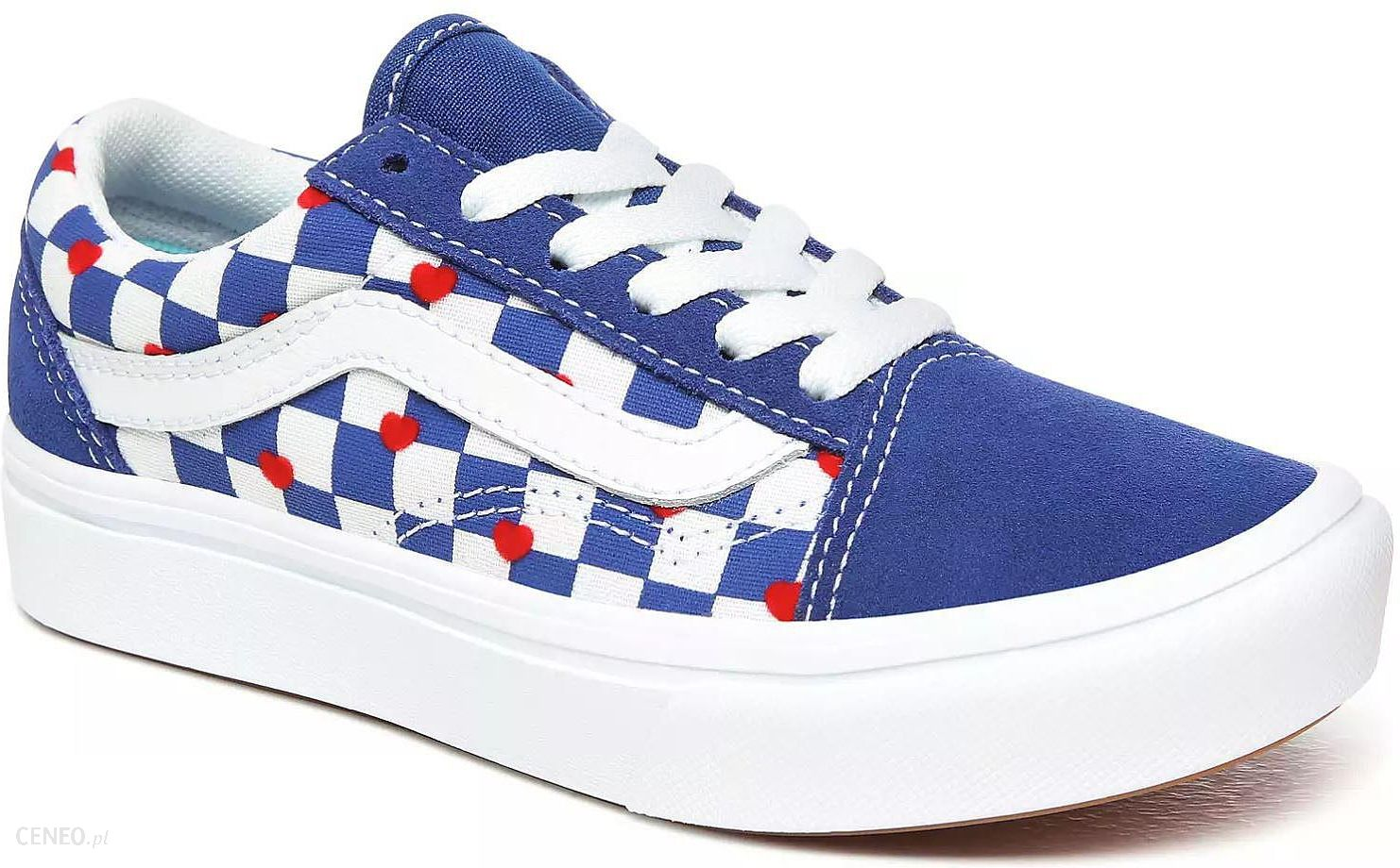 buty Vans ComfyCush Old Skool Autism AwarenessVans HeartTrue Blue 42