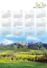 Lucrum Kalendarz Plakatowy A1 Pl 3 Podhale 2020 Ceny I Opinie Ceneo Pl