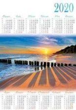 Lucrum Kalendarz Plakatowy B1 Pl25 Baltyk 2020 Ceny I Opinie Ceneo Pl