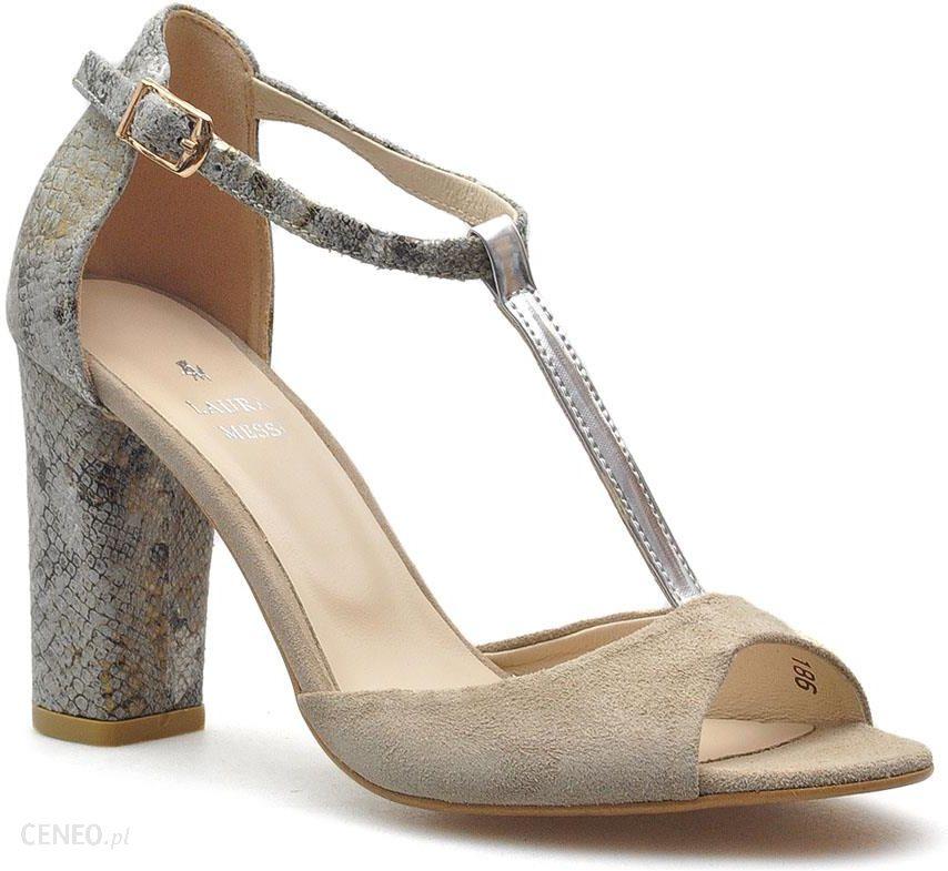 buty damskie sandały słupek laura piacci 8