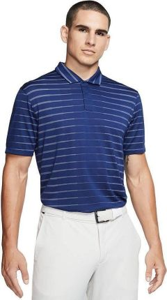 Nike TW Dri-Fit Novelty Mens Polo Shirt Blue Void/White/Black Oxidized XL - Ceny i opinie T-shirty i koszulki męskie KFMN