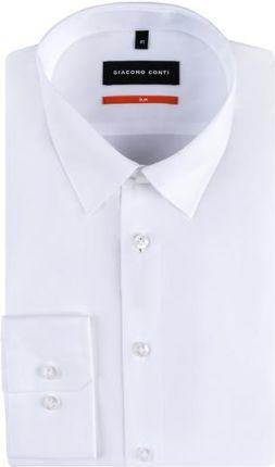 Risardi Koszula męska z krótkim rękawem cd24 biały Ceny  OvQ1p