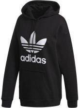 Adidas Originals Trefoil Hoodie Bluzy z kapturem BlackWhite