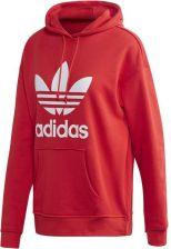 Bluza damska z kapturem Adicolor Trefoil Adidas Originals (lush redwhite) Ceny i opinie Ceneo.pl