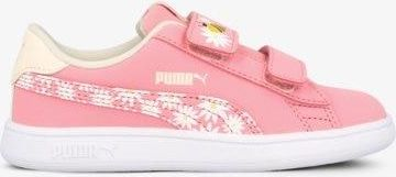 Buty Puma First Round Satin Jr white pink lady (3504620 21
