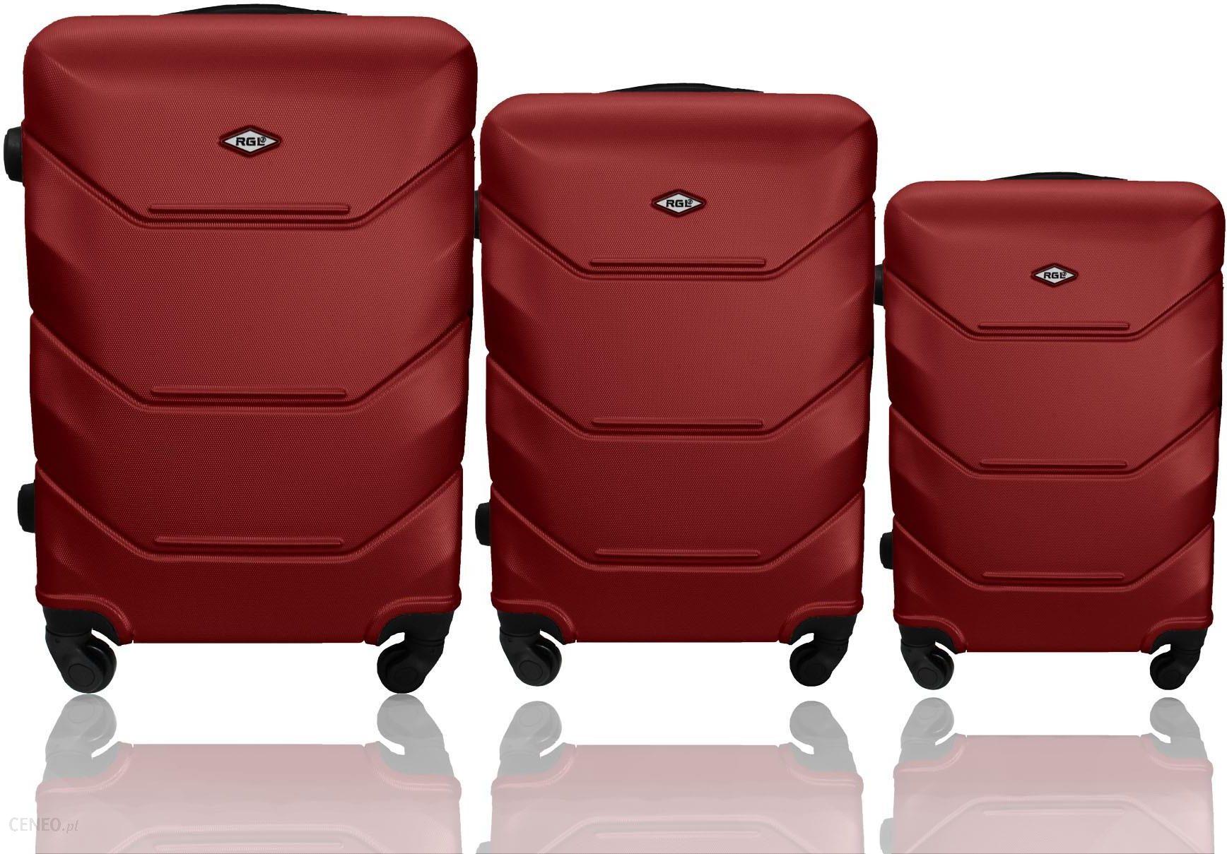 Zestaw walizek podróżnych 3w1 RIO COLLECTION