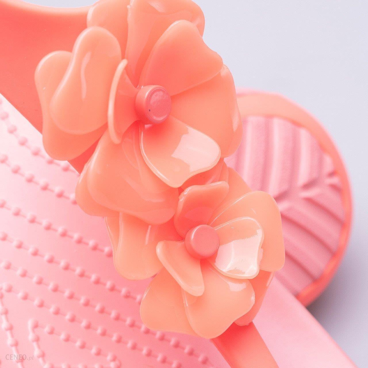 Sandały Crocs Serena Embellish Flip 205600 6PT różowy
