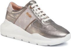 Buty sportowe złote damskie sneakersy Hannah