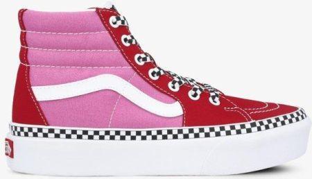 Buty damskie sneakersy Vans Authentic QER5U8 CZERWONY