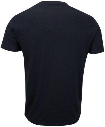 Granatowy T-shirt Męski, KrÓtki Rękaw -Just Yuppi- Koszulka, z Nadrukiem, w Napisy, Originals TSJTYUP10001kol3granat - Ceny i opinie T-shirty i koszulki męskie EQGZ
