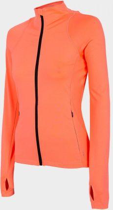 Outhorn Bluza treningowa damska BLDF600 koral neon