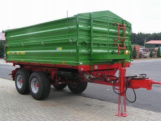 Przyczepa Rolnicza Tandem Pronar T 663 1 10 Ton Opinie I Ceny Na Ceneo Pl