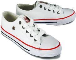 Trampki dziecięce Big Star białe DD374085 buty 32 Ceny i