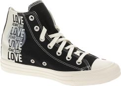 Buty Converse Chuck Taylor All Star Love Fearlessly Hi 567309BlackEgretUniversity Red 39.5 Ceny i opinie Ceneo.pl