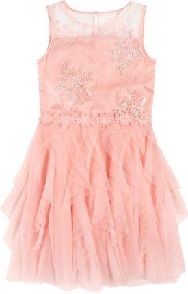 Amazon yming dziewcząt eleganckie koronki długa sukienka