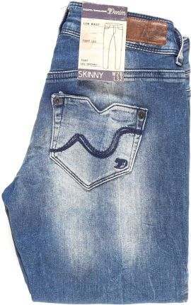 F&f Nowe Czarne Spodnie Jeansy Legginsy Xs 34 Ceny i